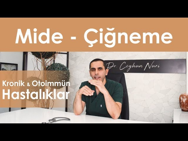 Mide - Çiğneme İlişkisi  / Kronik ve Otoimmün Hastalıklar - Sağlıklı Bilgi - Dr. Ceyhun Nuri