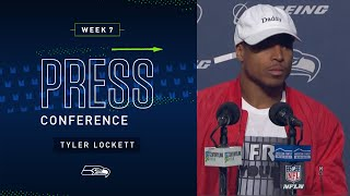 Tyler Lockett Postgame Press Conference vs Ravens | 2019 Seattle Seahawks