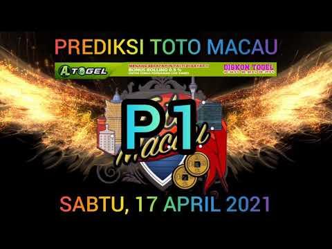 PREDIKSI MACAU HARI INI JAM 13.00   PUTARAN 1   SABTU, 17 APRIL 2021   LIVE MACAU  