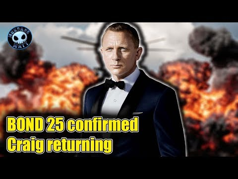 JAMES BOND 25 confirmed. Danny Boyle directing.