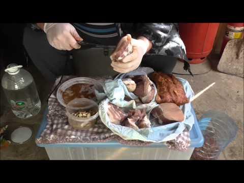 Как приготовить мясо горячего копчения