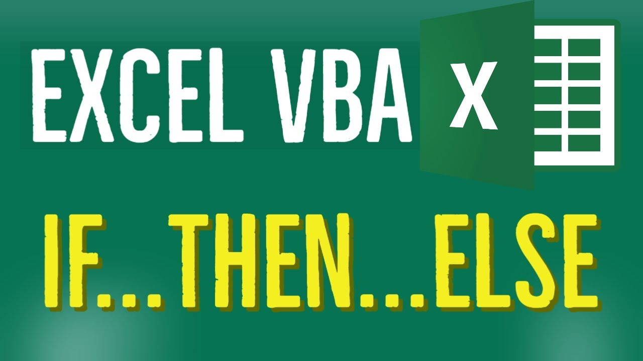 Excel VBA Tutorial for Beginners 48 - Nested IF statement in Excel VBA