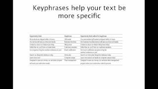 SEO Copywriting Tips: SEO copy editing how-to