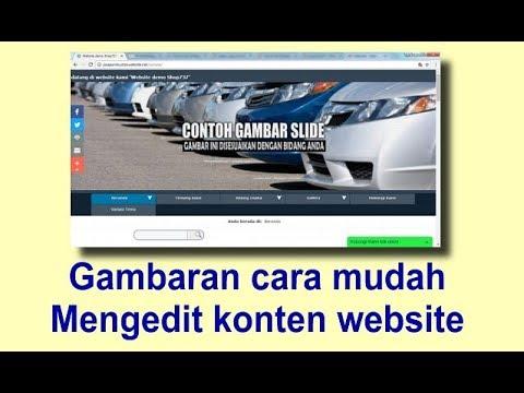 Tampilan Website menjadi sesuatu yang penting, Video berikut berisi cara merubah tampilan website me.