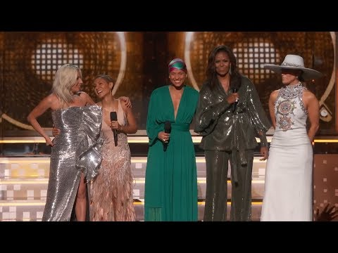 David Kane - Alicia Keys, Michelle Obama, Lady Gaga Open 2019 GRAMMYs