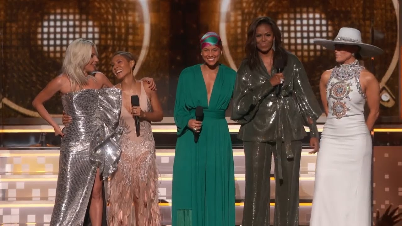Alicia Keys, Michelle Obama, Lady Gaga Open 2019 GRAMMYs