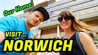 Norwich ENGLAND TRAVEL Vlog 2019 Visit Great Britain - British / Engli