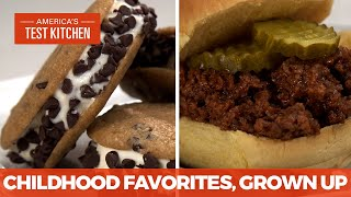 How to Make Chilḋhood Favorites Like Classic Sloppy Joes and Perfect Ice Cream Sandwiches