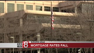 Mortgage rates fall