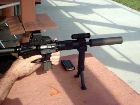 9mm Suppressed AR15