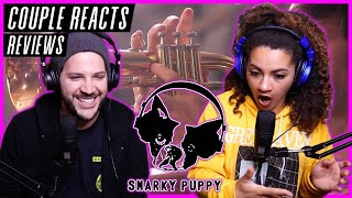 METAL COUPLE REACTS  Snarky Puppy 'Lingus' (We Like It Here)  REACTION / REVIEW