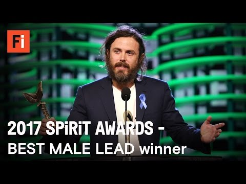 Thumbnail: Casey Affleck wins Best Male Lead at the 2017 Film Independent Spirit Awards
