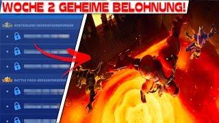 GEHEIME BONUS BELOHUNG von WOCHE 2 | Fortnite Season 8 Woche 2 Lösung