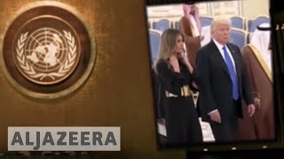 Trump first year: Turbulent foreign policy
