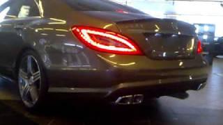 Mercedes CLS63 AMG 2011 exhaust sound