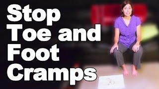 Stop Toe Cramps & Foot Cramps - Ask Doctor Jo Video