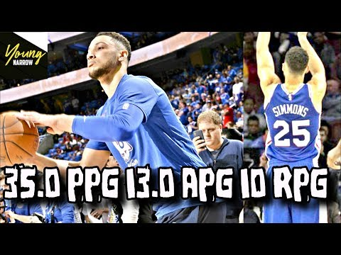 PROVING How GOOD BEN SIMMONS Would ACTUALLY Be With A JUMPSHOT!! HALL OF FAMER?!