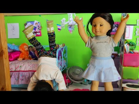 The Big Deal Sleepover- American Girl Stopmotion (FEAT. 4HAPPYHIPPOS)