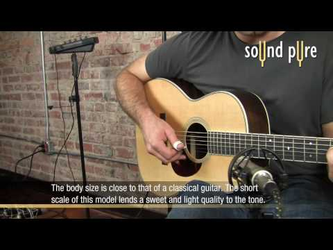 Santa Cruz 00 Acoustic Guitar Demo at Sound Pure