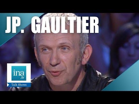 """Jean-Paul Gaultier """"Interview à la mode"""" - Archive INA"""