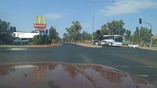 Arriving & driving around Alice Springs Central Australia