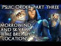 ESO Psijic Order Guide Part 3: Morrowind & Skyrim Time Breach Locations