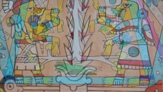 Aztec and Mayan wisdom. Hal Marcus - Fejervary-Mayer Codex painting
