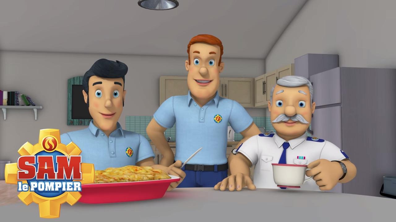 Sam le pompier en francais eau et lectricit ne font - Photo sam le pompier ...