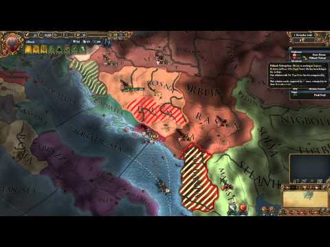 Let's Play Europa Universalis 4 Art of War as Albania! part 1