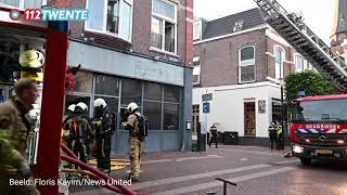 112Twente.nl – Brand winkelpand Almelo 26-08-2021