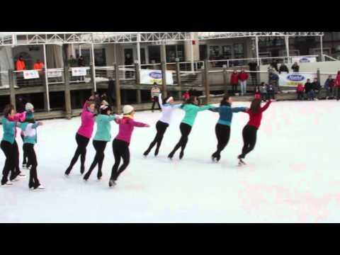 Comtech Ice Skating Flash Mob