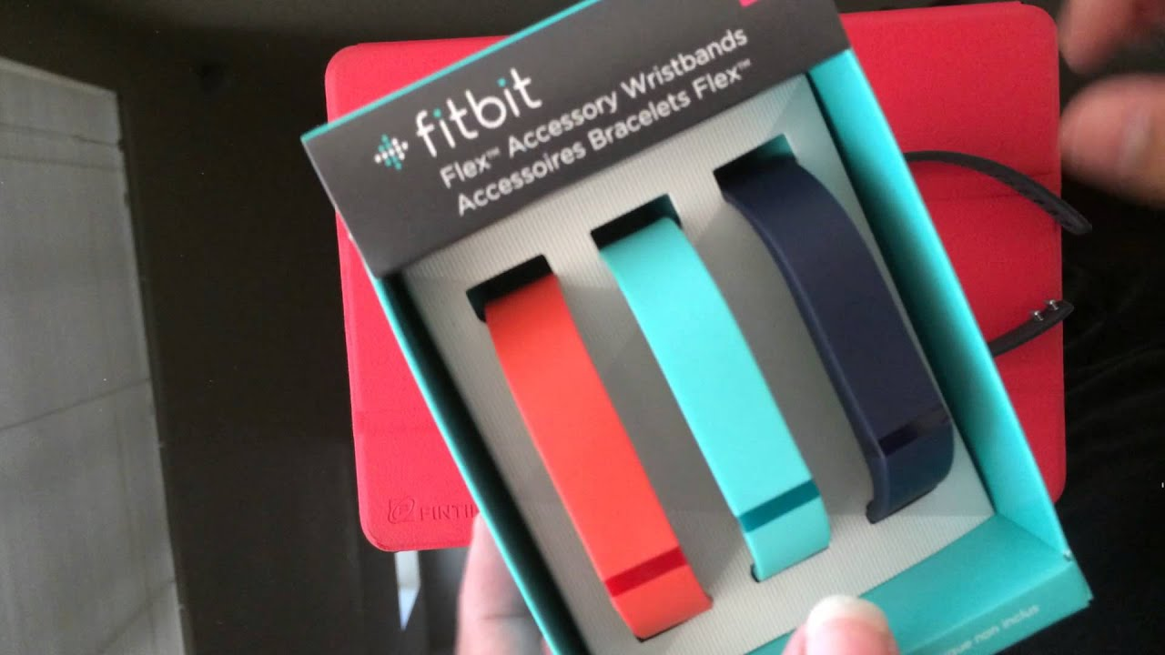 Fitbit Flex Wristband Accessory Pack Large Size
