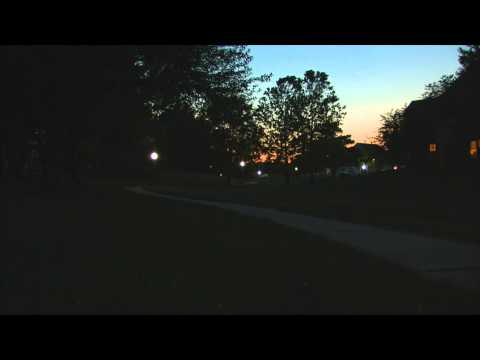 2012-06-09 Summer Evening Fireflies Johnston, IA