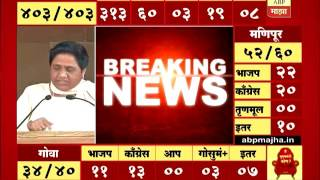 Lucknow : Mayavati Blames EVM Machine : complaints EC