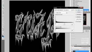 tutorial photoshop letras goticas por 0o0guajita0o0