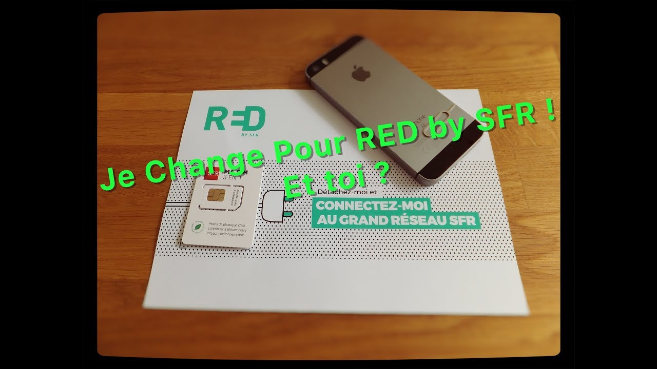 activer carte sim red by sfr Change Ton Forfait Qui Augmente | RED by SFR | InnovativeAleX