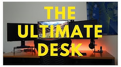 The Ultimate Computer Desk for Day traders and Gamers | Bush Series C Desk
