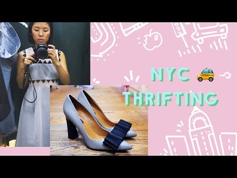✂ Thrift With Me in NYC - Vintage Shopping & Haul