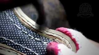 Diamond Walker bespoke shoes - Handsewn Welting process