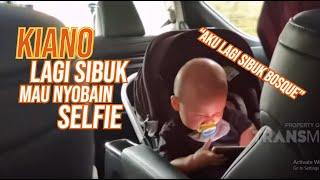 Asik Berenang Sambil Ketawa-Ketawa, Kiano Selfie Dulu Ah!   KELUARGA BOSQUE (25/7/20) P2