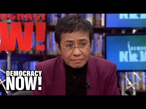 Filipina Journalist Maria Ressa Helped Expose Duterte's Deadly Drug War; He's Now Trying to Jail Her