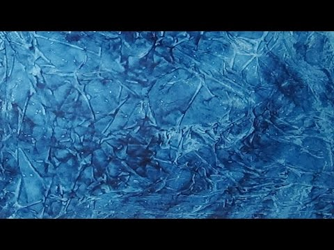 Acrylic paint and plastic wrap background painting youtube for Acrylic background techniques