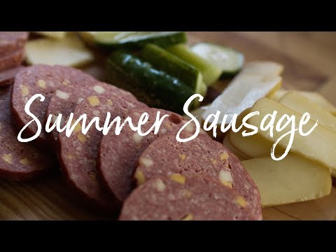 how to make venison salami at home