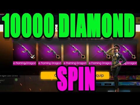 10000 Diamond Spin|| Free Fire Luck Royal Spin Tricks|| Run Gaming