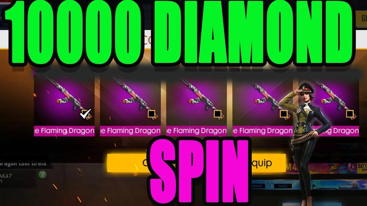 10000 Diamond spin   Free fire luck Royal spin tricks   Run gaming