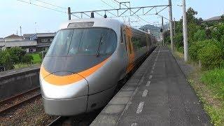 【特急しおかぜ】JR四国 予讃線 三津浜駅を8000系通過