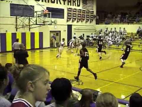 Calumet High School Basketball 2001-2002 vs. Hobart
