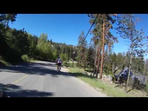 Road Cycling down Lakeshore Drive Kelowna B.C May 5, 2013 Part 1