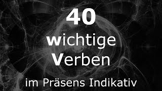 Deutsch Lernen | 40 Verben | Verben im Präsens | #Verben | Learn German HD♫(PONS Verben ▻ http://amzn.to/16wTSWZ Facebook ▻ http://bit.ly/LGHDAfacebook YouTube Abo ▻ http://bit.ly/LGHDAyoutubeABO Reisewörterbuch ..., 2015-09-20T10:00:01.000Z)