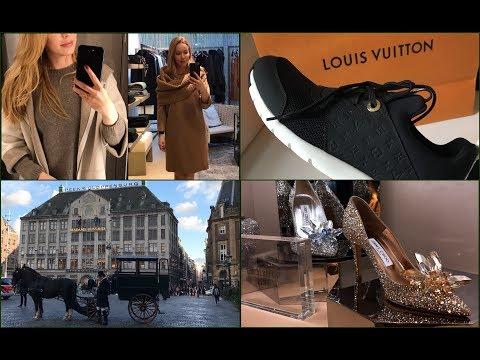 Luxury Shopping Vlog*  *Шоппинг в Европе /Амстердам/  Бренды, обувь ,одежда*